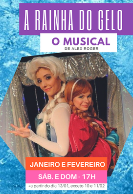 A Rainha do Gelo - O musical